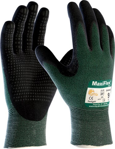 MaxiFlex&#174; Cut<sup>(TM)</sup> Dotted Palm Coated Level 3 ATG&#174; 34-8443