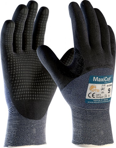Maxicut® Ultra Dotted 3/4 Coated Knit Wrist Level 5 ATG® 44-3455