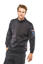 Flame Retardant Anti-Static ARC Sweatshirt Navy