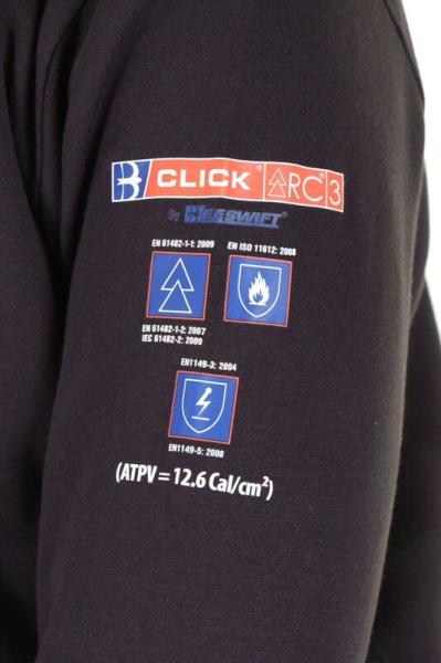 24aaba916bb1 Flame Retardant Anti-Static ARC Sweatshirt Navy Home - Industrial ...