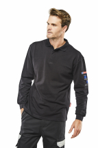 Flame Retardant Anti-Static ARC Polo Shirt Navy