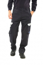 Flame Retardant Anti-Static ARC Trousers Navy
