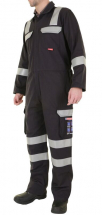 Flame Retardant Anti-Static ARC Coverall Navy