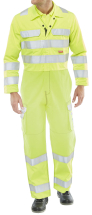 Flame Retardant Anti-Static ARC Hi-Vis Coverall