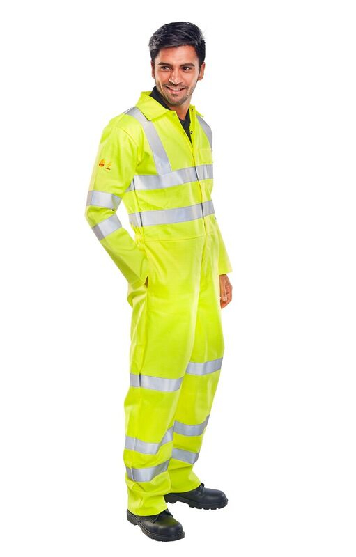 FR Hi-Visibility Anti-Static Boilersuit