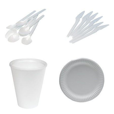 Cutlery, Plates & Cups