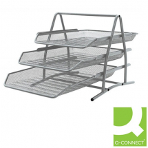 Mesh Three Tier Letter Trays
