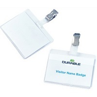 Durable Premium Visitor Badges
