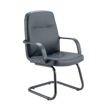 Rhone Leather Look Visitor Chair