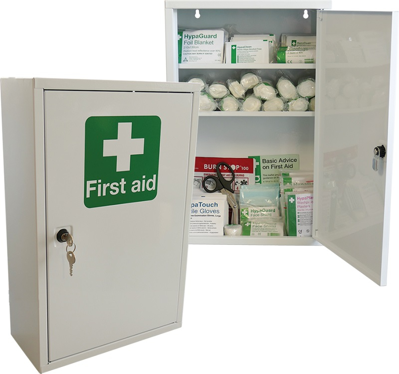 First Aid Cabinet BS8599 Compliant LARGE